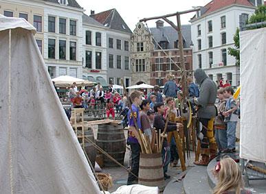 Middeleeuws festival Deventer foto Marcel Tettero