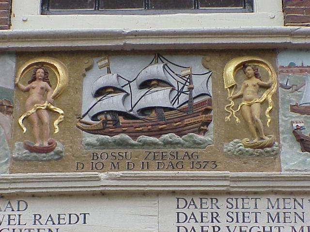 Gevel woning in Hoorn