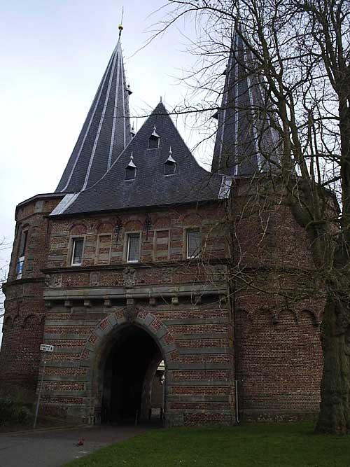 Middeleeuwse poort in Kampen