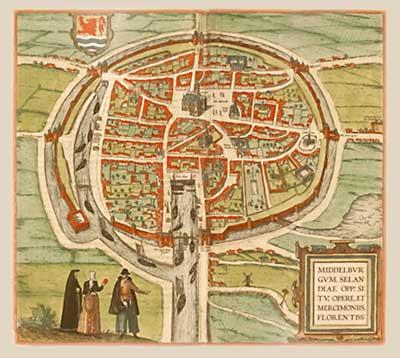 Middelburg 1575 t.t.v. het beleg