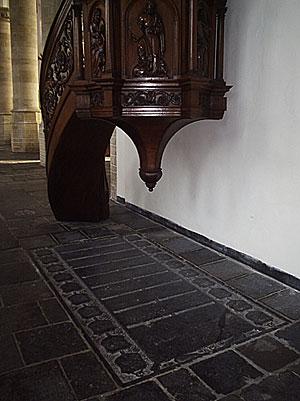 Graf van secretaris van der Meer van Delft