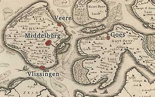 Walcheren en Zuid Beverland