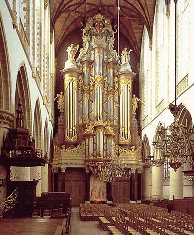Grote of sint bavokerk in haarlem for Domon st eustache heure d ouverture