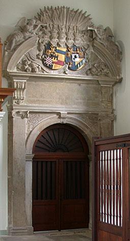 De grafkelder van Johan Ripperda, heer van Goor, in de Hofkerk