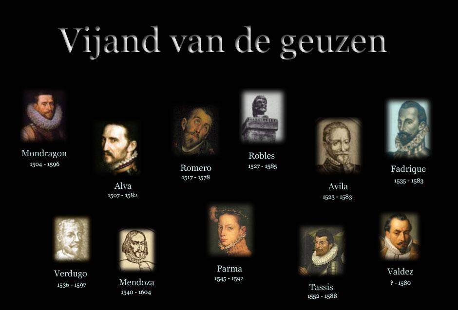 De eerste jaren van de opstand in de Nederlanden 1568 - 1576
